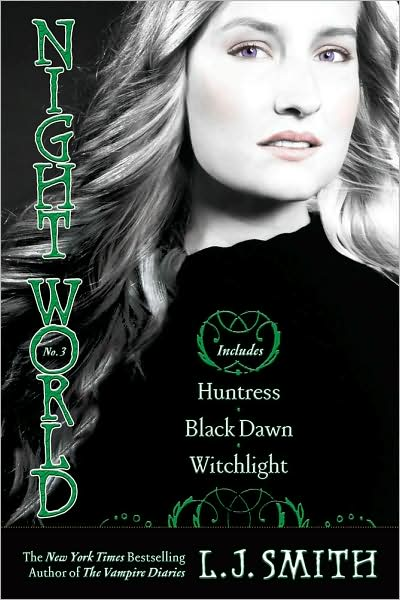 NIGHT WORLD by LJ Smith - complete all 9 stories in 3 paperback set